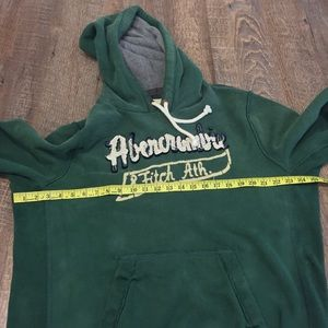 Abercrombie & Fitch Shirts - Abercrombie & Fitch Green Hoodie Large